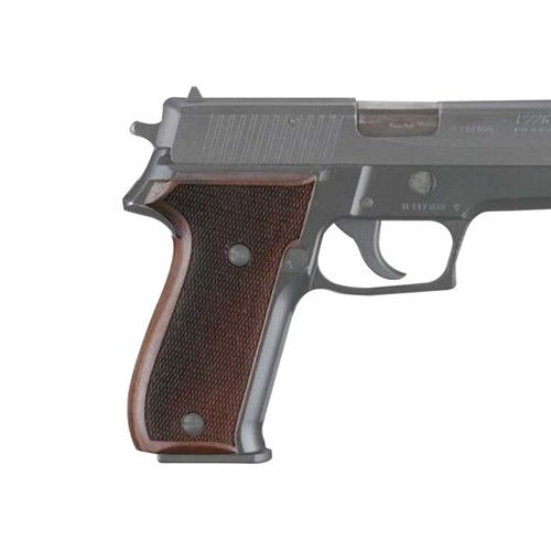 Hogue Fancy Hardwood Grips Sig Sauer P226 Checkered Pau Ferro