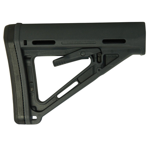 Magpul Stock MOE Collapsible Mil-Spec Diameter AR-15, LR-308 Carbine Synthetic Stealth Gray