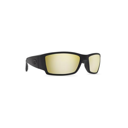 Costa Del Mar Corbina Polarized Sunglasses Blackout Frame/Sunrise Silver Mirror Glass Lens