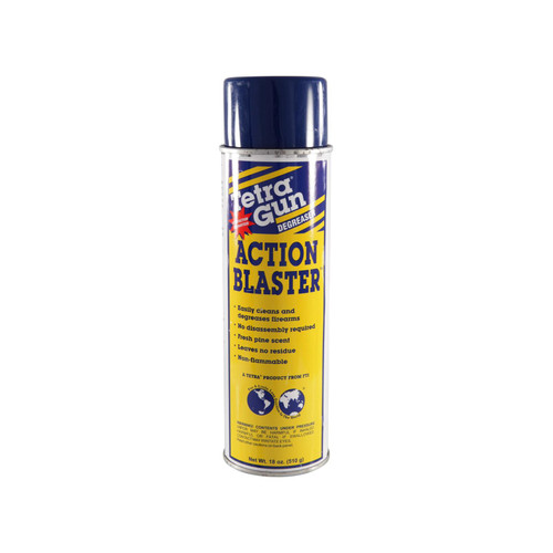 Tetra Gun Action Blaster Gun Cleaner-Degreaser 18 oz Aerosol
