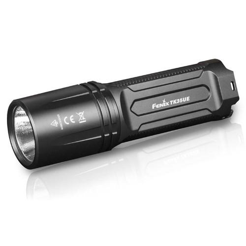 Fenix TK35UE Ultimate Edition Flashlight LED Requires 2 18650 Rechargeable Li-ion Batteries Aluminum Black