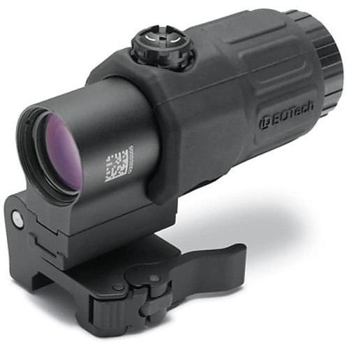 EOTech G33 3x Magnifier with Switch to Side Quick Detachable Mount Matte