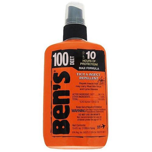 Ben's 100 MAX Deet Insect Repellent Spray 3.4 oz