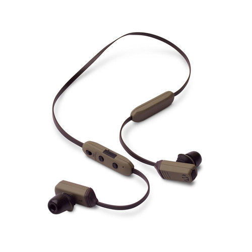 Walker's Rope Hearing Enhancer Rechargeable Electronic Enhancement & Protection (NRR 29dB) Flat Dark Earth