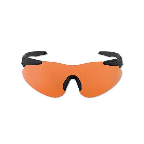 Beretta Basic Shooting Glasses Black Frame Orange Lens