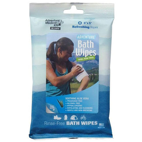 Adventure Medical Kits Small Hygiene Hand/Field Wipes Pack of 8