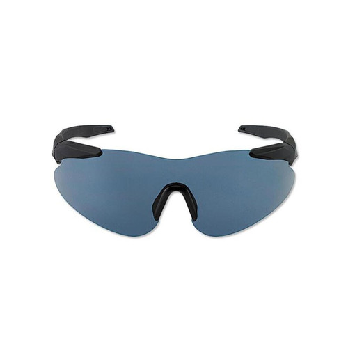 Beretta Basic Shooting Glasses Black Frame Blue Smoke Lens