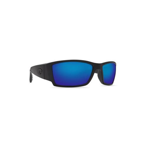 Costa Del Mar Corbina Polarized Sunglasses Blackout Frame/Blue Mirror Glass Lens