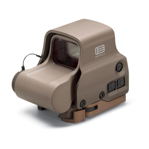 EOTech EXPS3-0 Holographic Weapon Sight 68 MOA Circle with 1 MOA Dot Reticle Tan CR123 Battery