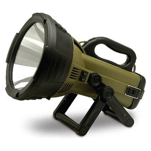 Cyclops Thor X Colossus Spotlight Halogen Rechargeable Battery Green