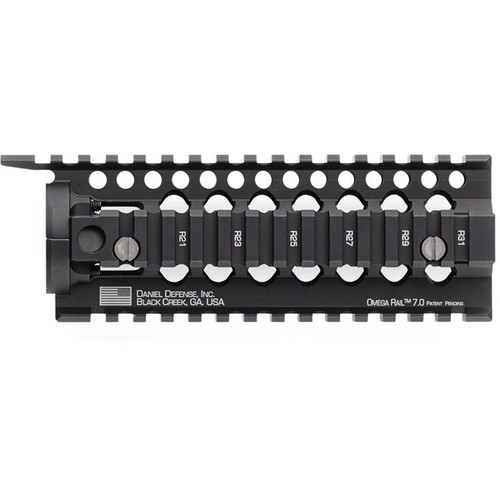 Daniel Defense Omega 7.0 Free Float Handguard Quad Rail AR-15 Carbine Length Aluminum Black