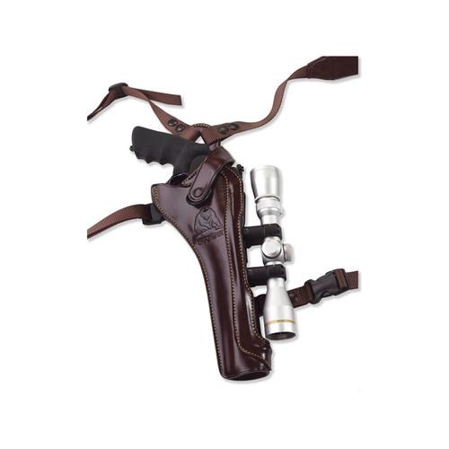 "Galco Kodiak Shoulder Holster RH Scoped S&W N Frame 8.375"" Barrel Leather"