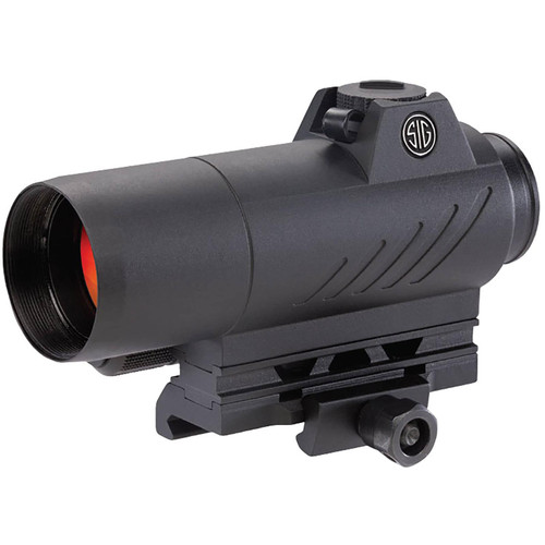 Sig Sauer ROMEO7 Red Dot Sight 1x 30mm 1/2 MOA Adjustments 2 MOA Dot Reticle Picatinny-Style Mount Black