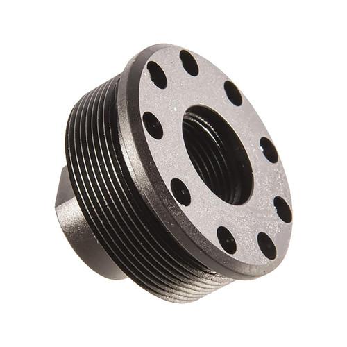 "SilencerCo Alpha Direct Thread Mount 5/8""-24 for SilencerCo Harvester Steel Matte"