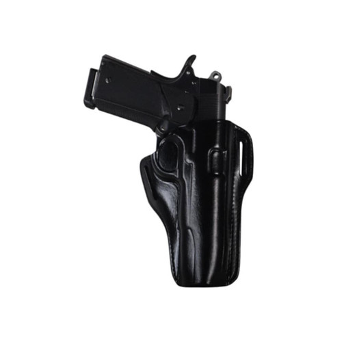 Bianchi 57 Remedy Outside the Waistband Holster Right Hand 1911 Commander Leather Black