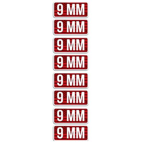 MTM CL9MM AMMO CALIBER LABELS 9MM