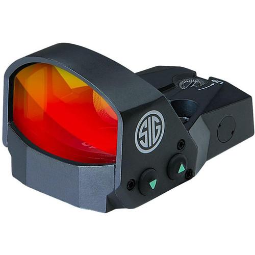 Sig Sauer ROMEO1 Reflex Sight 1x30mm 1 MOA Adjustments 6 MOA Dot Black