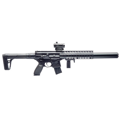 Sig Sauer MCX CO2 177 Caliber Pellet Air Rifle with Red Dot Scope