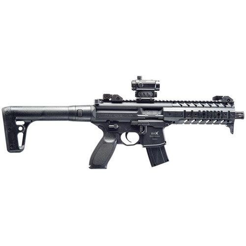 Sig Sauer MPX CO2 177 Caliber Pellet Air Rifle with Red Dot Scope