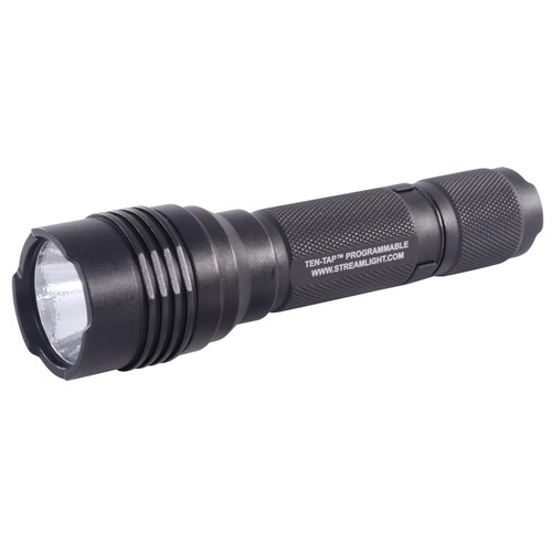 Streamlight ProTac HL Flashlight LED with 2 CR123A Batteries Aluminum Black