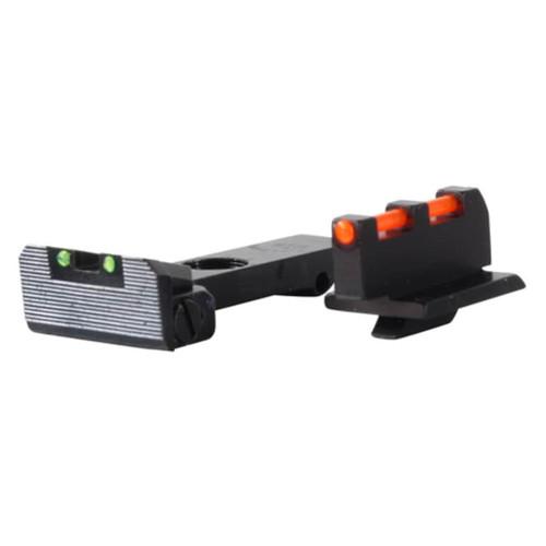 Williams Fire Sight Ruger GP100, Redhawk, Super Redhawk Fiber Optic Green
