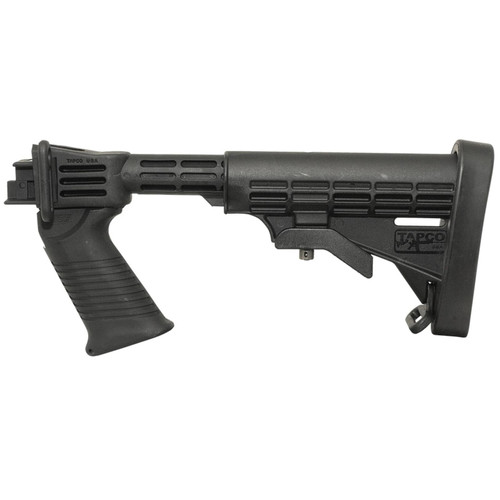 TAPCO Intrafuse T6 6-Position Collapsible Stock Saiga Synthetic Black