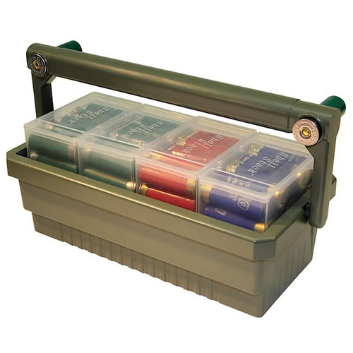 MTM SSC SHOTSHELL BOX CADDY WITH 4 SS25'S