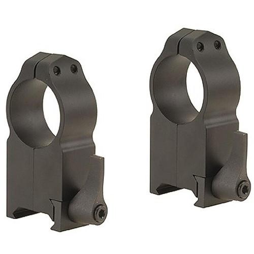 "Warne 1"" Maxima Quick-Detachable Weaver-Style Rings Matte Ultra High"