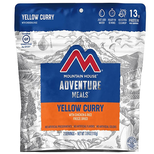Mountain House Yellow Curry With Chicken and Rice Freeze Dried Food 3.9 oz