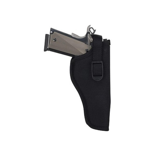 "Uncle Mike's Sidekick Hip Holster Right Hand Medium and Large Double Action Revolver 4"" Barrel Nylon Black"