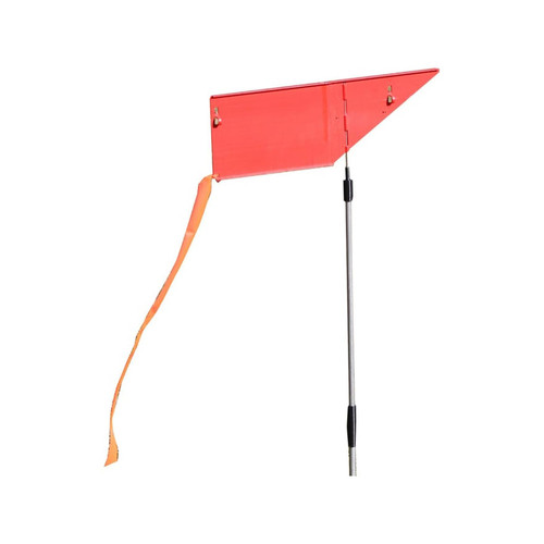 MTM Wind Reader Shooting Range Flag Red
