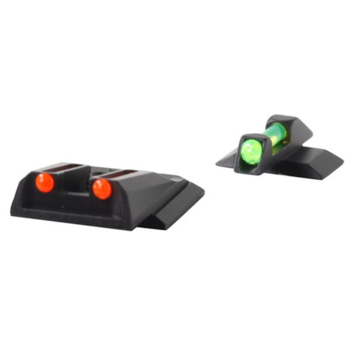 Williams Fire Sight Set Ruger LC9 FO Green Front, Red Rear Steel Blue