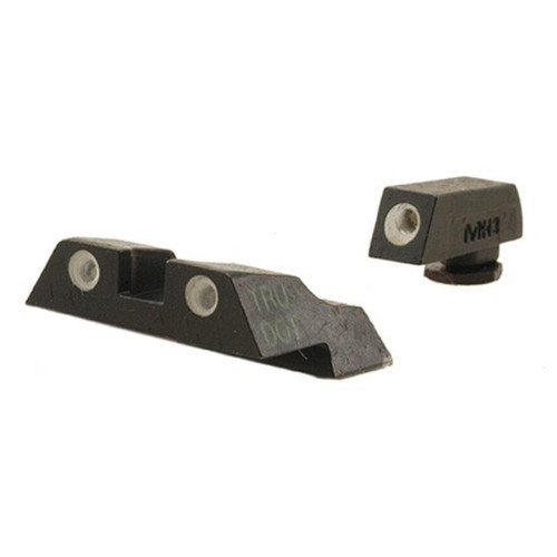 Meprolight Tru-Dot Sight Set Glock 26, 27 Steel Blue Tritium Green