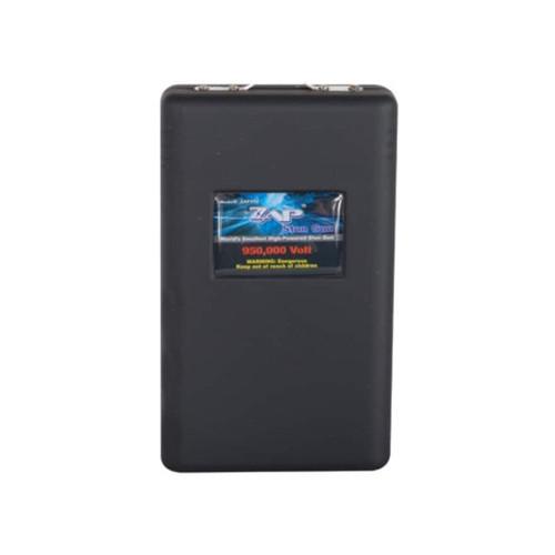 ZAP 950,000 Volt Stun Gun with 3 CR123A Batteries Polymer Black