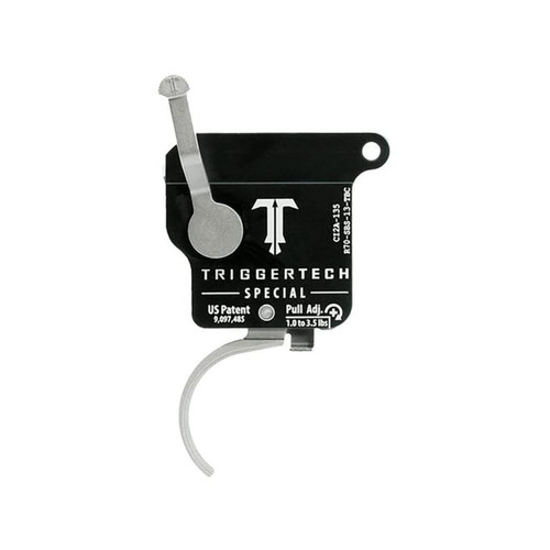 TriggerTech Special Trigger CB Rem 700 Single Stage with BR, Safety Silver