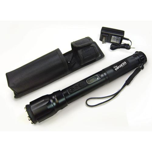 ZAP Enforcer 2,000,000 Volt Stun Gun with LED Flashlight Rechargeable