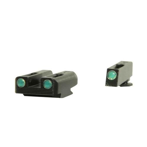 TRUGLO TFO Sight Set Glock 42, 43 Tritium / Fiber Optic Green