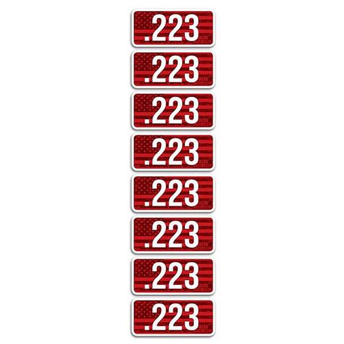 MTM CL223 AMMO CALIBER LABELS 223