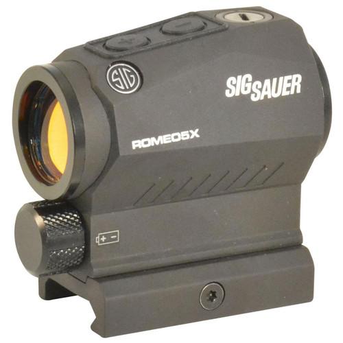 Sig Sauer ROMEO5 X Compact Red Dot Sight 1x 20mm 1/2 MOA Adjustments