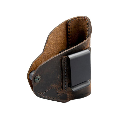 Versacarry Revolution IWB Holster Right Hand Ruger LCR, SP101 Leather Black