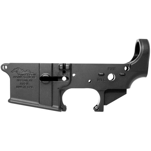Anderson AM-15 AR-15 Stripped Lower Receiver Aluminum Black