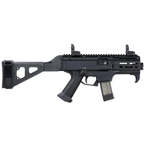 "CZ-USA Scorpion EVO 3 S2 Micro 9mm Luger 4.12"" Barrel 20-Round Black with Brace"