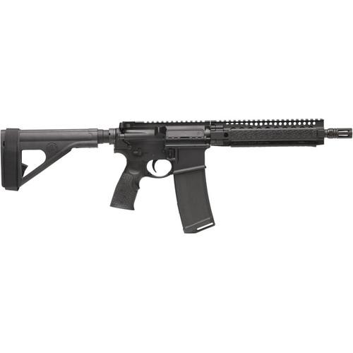"Daniel Defense M4300 Pistol 300 AAC Polymer Blackout 10.3"" Barrel with Stabilizing Brace 32-Round Polymer Black"