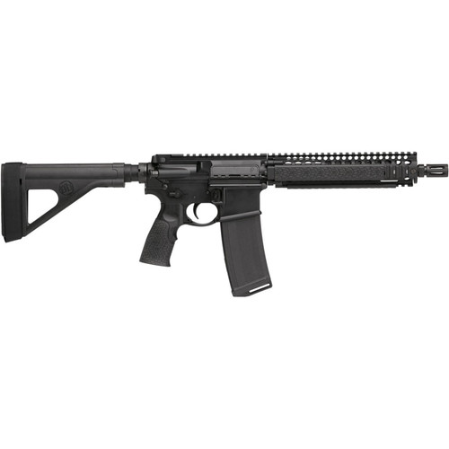"Daniel Defense MK18 Pistol 5.56x45mm NATO 10.3"" Barrel with Stabilizing Brace 32-Round Polymer Black"