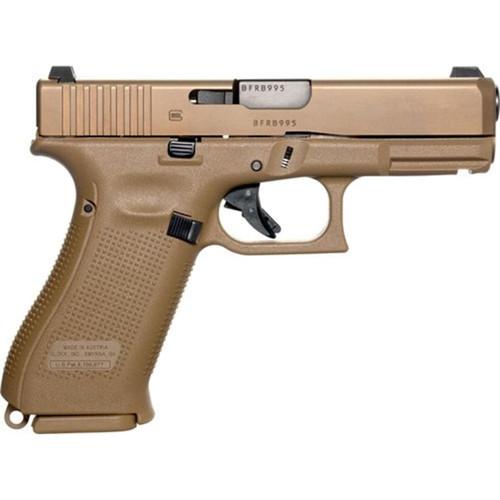 Glock 19X Pistol 9mm Luger Night Sights 19-Round Polymer Flat Dark Earth