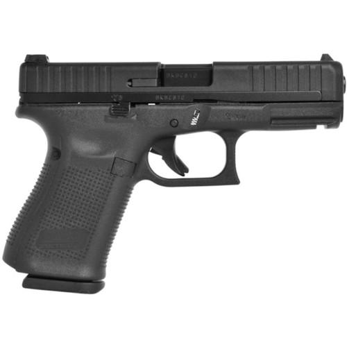 Glock 44 Pistol 22 Long Rifle Fixed Sights 10-Round Polymer Black