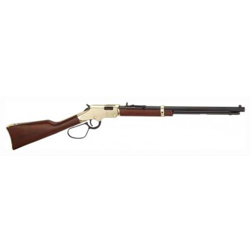 "Henry Goldenboy Large Loop Rifle 22 Short/ Long Rifle 20"" Blue Octagon Barrel, 16-Round Walnut Stock"