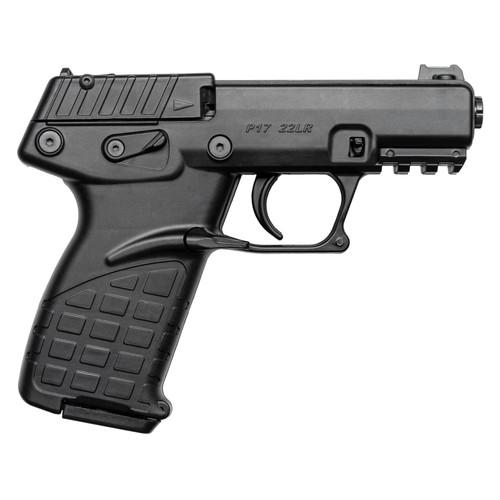 "Kel-Tec P17 Pistol 22 Long Rifle 3.93"" Barrel 17-Round Polymer Black"