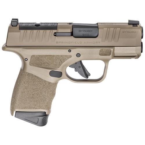 "Springfield Armory Hellcat OSP 9mm Luger Semi-Automatic Pistol 3"" Barrel 13-Round Polymer Flat Dark Earth"
