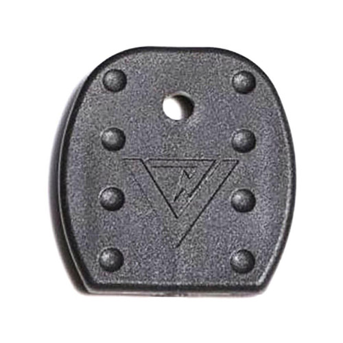 Vickers Tactical Magazine Floor Plates Glock 9mm, 40 S&W, 357 SIG, 45 GAP Metal Lined Magazine Polymer Black Package of 5